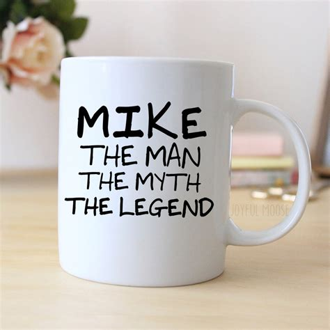 Personalized Mug Personalized Coffee Mug for Men GIft for
