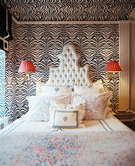 zebra headboard zebra print wallpaper photos design ideas remodel and