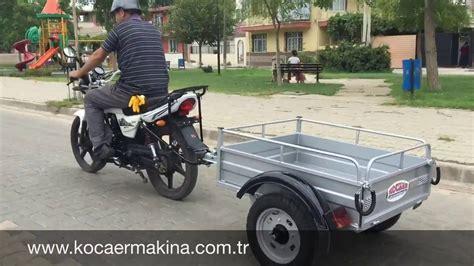 motosiklet roemorku kmr  youtube