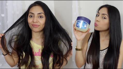 el pelo de la 1374924121 cabello hermoso en minutos mascarilla de vaselina youtube