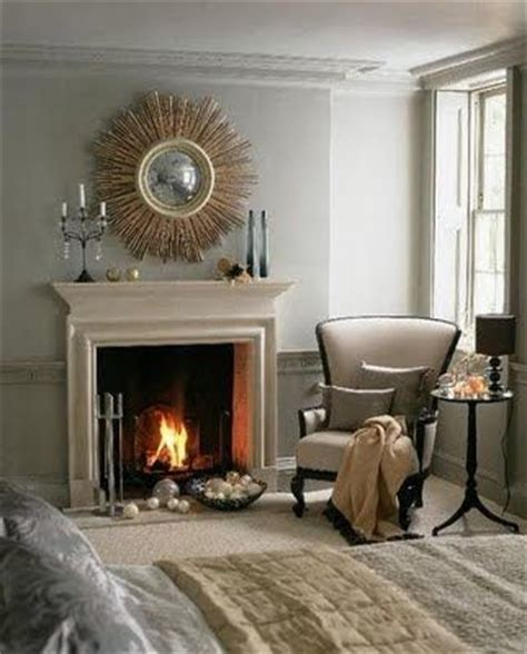 decorative wall fireplace gray pearls and atomic age on