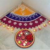 Rangoli Designs With Flowers And Colours   479 x 476 jpeg 42kB