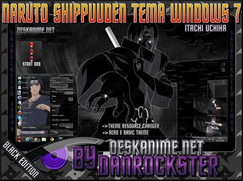 itachi uchiha themes for windows 8 1 itachi uchiha theme windows 7 by danrockster on deviantart