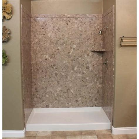 bathtub panel kits flexstone 60 quot x36 quot x78 quot royal 3 panel tub or shower kit at