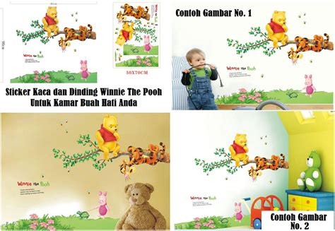 Sticker Kaca Dinding Wallpaper by Jual Sticker Kaca Dinding Wallpaper Winnie The