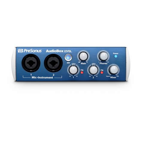 Audiobox Usb presonus audiobox 22vsl usb audio interface ebay