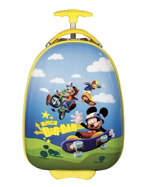 Travel Bag Mini Koper Mickey Mouse 1 mickey mouse luggage for all discount luggage