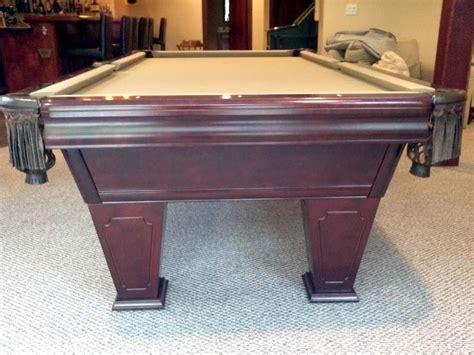 9 pool table 9 brunswick ventura pool table for sale