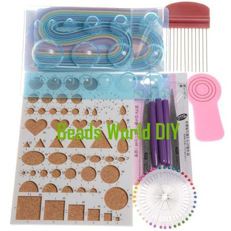 Handcraft Diy - handcraft diy 1 set high quality quilling paper kits