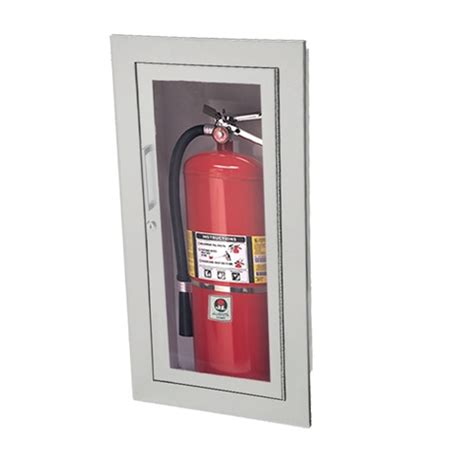 Jl Academy Aluminum 2025g10 Recessed 20 Lbs Fire Jl Extinguisher Cabinets