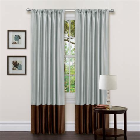 kyoto curtains lush decor kyoto window panels brown 84 in x 54 in