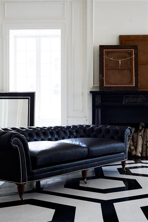 ralph lauren couch the brook street tufted sofa this chesterfield sofa is