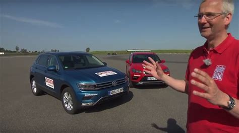 seat ateca vs tiguan 2016 volkswagen tiguan vs seat ateca review finds