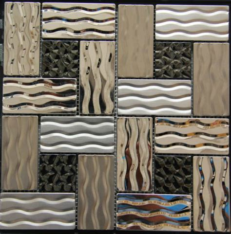 stainless steel tile backsplash ssmt268 kitchen mosaic