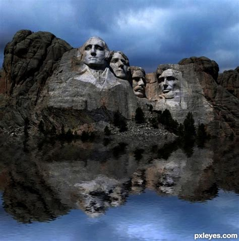 Displace Filter Photoshop Contest 20723 Pictures Page 1 Pxleyes Com Mount Rushmore Photoshop Template