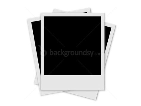 blank polaroid frame background puzzle frame template psd