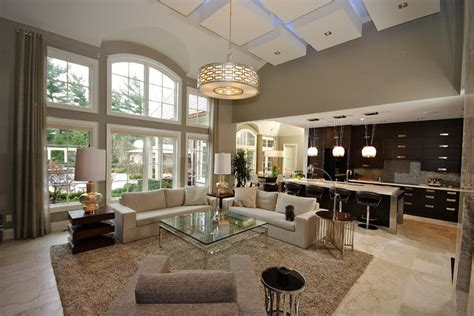 Color Scheme Interior Design by Old Oakville Open Concept Living Contemporary Living