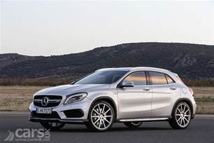 mercedes gla 45 amg pictures cars uk