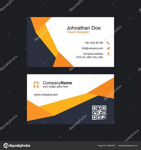 Moderne Visitenkarten Vorlage Visitenkarten Vorlage Stockvektor 169 Ibrandify 134481038
