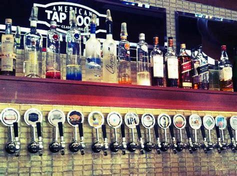american tap room arlington va portion of the bar picture of american tap room arlington tripadvisor