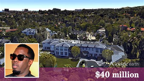 Sean Combs Spends 40 Million For Newly Built Mansion La Times