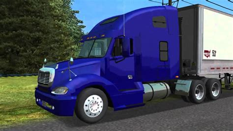 freightliner columbia towne air freight by caminhoneiro no haulin a production