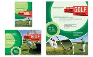 Golf Tournament Program Template by Golf Tournament Flyer Ad Template Design