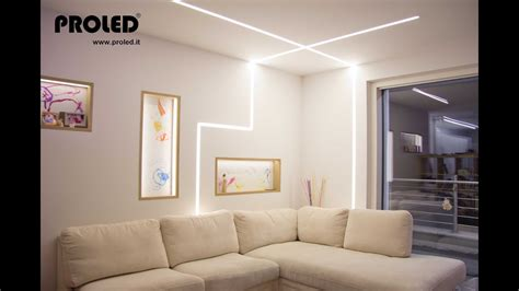 pareti illuminate nicchie illuminate strisce led dimmer a pulsante
