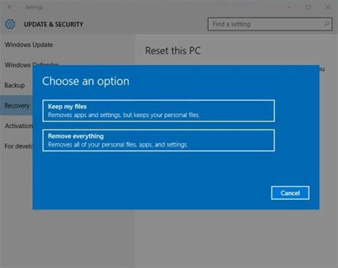 resetting wifi on windows 10 top 2 ways to reset an hp laptop windows 10 without password