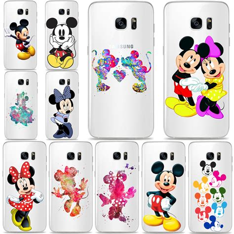 Casing Samsung Galaxy S7 Edge Minnie Mouse X6078 mickey mouse minnie tpu pc silicone phone coque for samsung galaxy