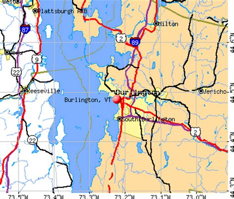 burlington vt map burlington vermont vt profile population maps real