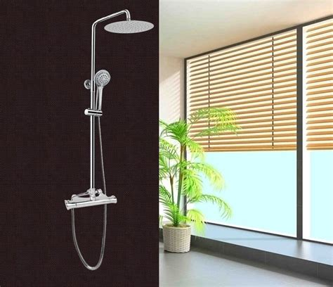 doccia con saliscendi colonna doccia saliscendi con soffione e miscelatore