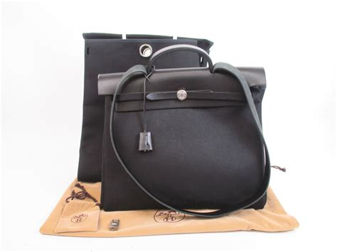Salvatore Feragamo 2in1 3128 hermes herbag mm black toile canvas leather 2 in 1 shoulder bag 4127 authentic brand shop tokyo s