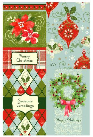 Walmart Ca Gift Card - christmas boxed cards traditional argyle walmart ca