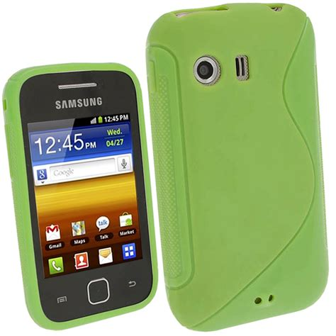 Casing Hp Samsung Galaxy S5360 green tpu gel for samsung galaxy y s5360 android cover skin holder bumper ebay