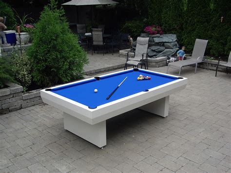 backyard pool table 1000 series contemporary table outdoor pool tables