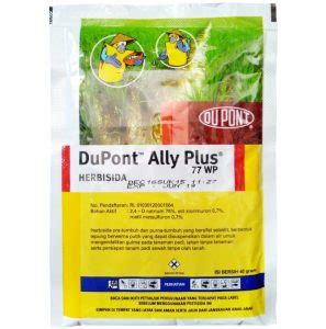 Obat Pengendalian Gulma Pada Tanaman Padi obat pertanian pengendali gulma ally plus 77 wg 40 gram