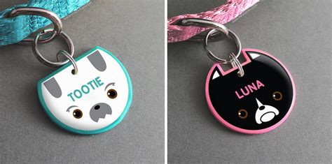 Handmade Id Tags - handmade novelty pet tags from pixsqueaks milk