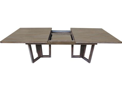 Brownstone Dining Table Brownstone Furniture Palmer 100 L X 41 W Rectangular Driftwood Extension Dining Table Brnpl302