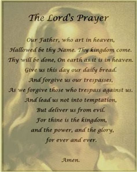 The Lord Prayer what would the lord s prayer sound like today jr