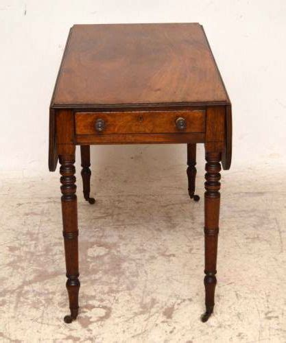 mahagoni tisch antiker mahagoni tisch pembroke table