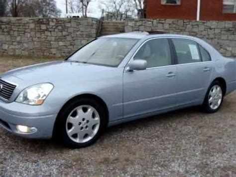 2002 Lexus Ls430 Review by 2002 02 Lexus Ls430 Ls 430 Start Up N Used Car Review At