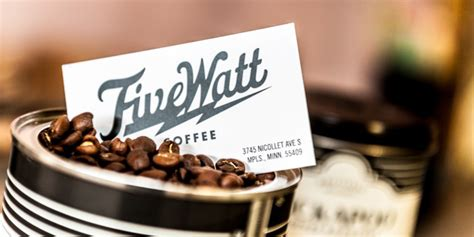 Watt Coffee big watt from five watt coffee and more the heavy