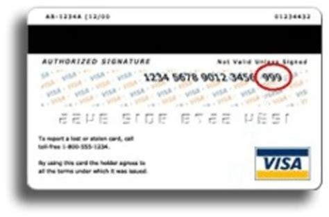 Credit Card Verification Form Credit Card Verification Value Spangler