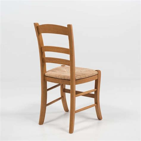 chaise rustique chaise rustique en ch 234 ne et paille de seigle 370 4
