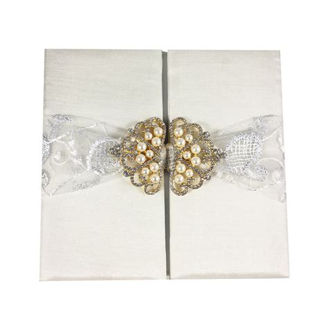 Lace Wedding Invitations by Beautiful Ivory Lace Wedding Invitation Pocket Folio