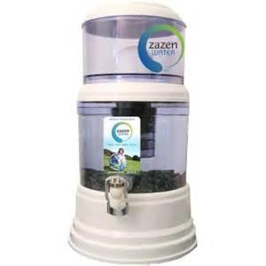 Zazen Bench Zazen Benchtop Water Filter Simply Natural Living