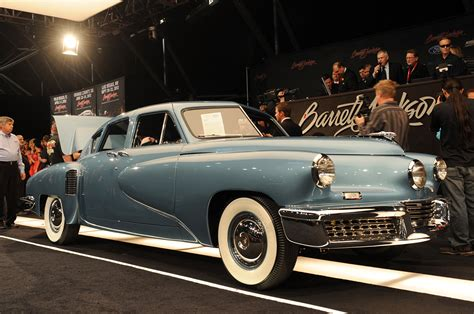 An Tucker barrett jackson 2012 1948 tucker torpedo bid up to