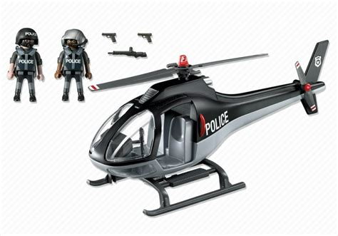 Playmobil Tactical Unit Helicopter playmobil set 5975 tactical unit helicopter