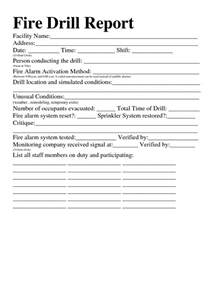 drill record template best photos of drill report form sle drill